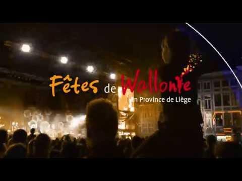 Province de Liège - Fêtes de Wallonie 2016 en Province de Liège