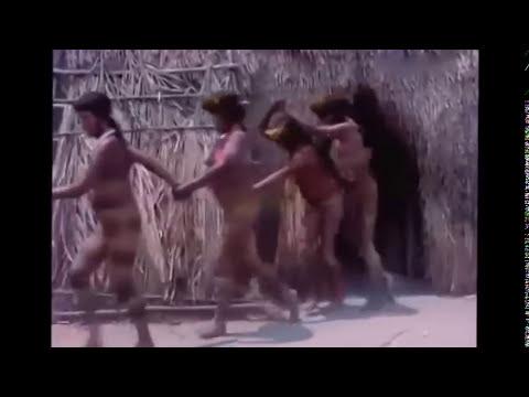 Yanomami Tribes chooice husband ceramony video at amazon rain forest july 2013