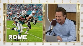 Miami Defeats the Patriots on Miracle Play | The Jim Rome Show