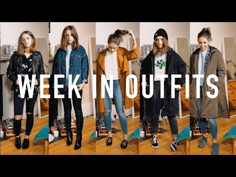 WEEK IN OUTFITS: Everyday Uni Outfits   sunbeamsjess