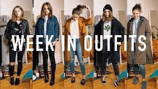 One of sunbeamsjess's most viewed videos: WEEK IN OUTFITS: Everyday Uni Outfits | sunbeamsjess