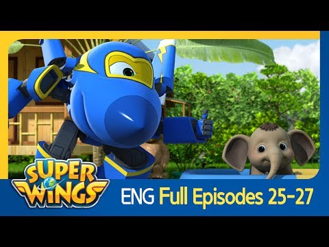 [Super Wings] Full Episodes 25~27(ENG)