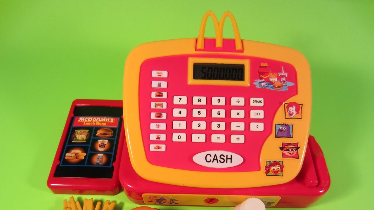 Register Cash Mcdonalds