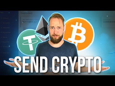 How To Send Bitcoin & Crypto From Coinbase Pro To Another Wallet