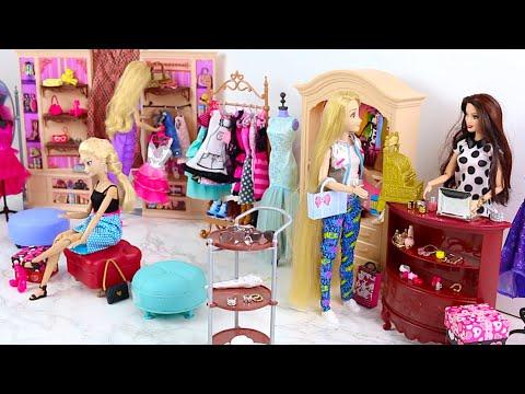 Barbiee Doli Kitchen Set Up Real Cooking Refrigerator مـ ـطـ ـبخ بـ ـاربـ ـيbarbiee Cozinha Youtube