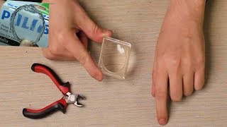 Magnifier Glass: How to Make Magnifying Glass   Plastic Bottles Hacks.