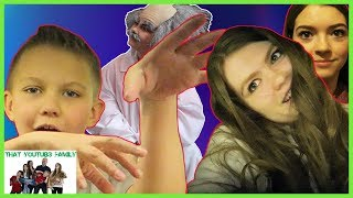 INFECTION Tag Game In Real Life In BOX FORT MAZE! ft. Shot Of The Yeagers / That YouTub3 Family