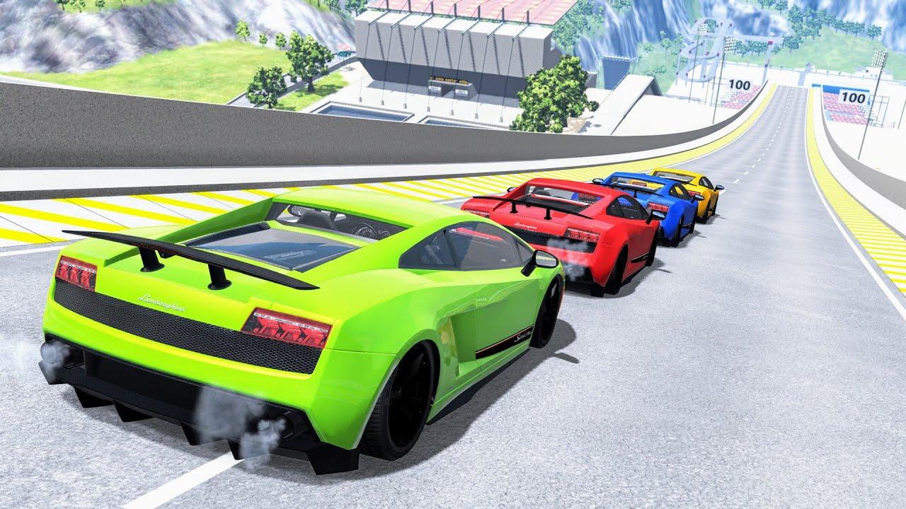 Download Epic High Speed Car Jumps #146 – BeamNG Drive | CrashBoomPunk
