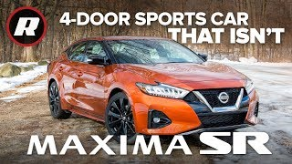 New 2019 Nissan Maxima SR: Five things to know about the 4-Door Sports Car that isn't