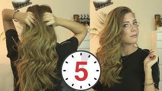 5 Dakikada Doğal Görünümlü Dalgalı Saçları Nasıl Yapıyorum?