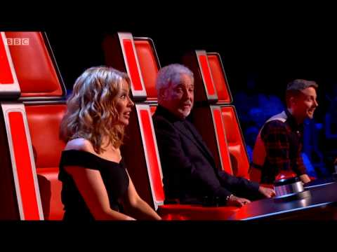 Si Genaro trying out on BBC - The Voice 2014