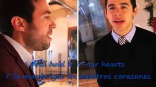 The Prayer - David Archuleta & Nathan Pacheco (Lyrics) INGLES-ESPAÑOL