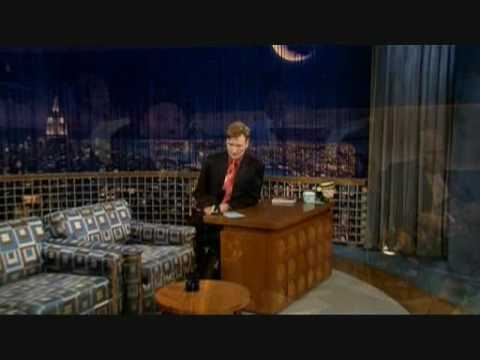 "Harry Shearer on ""Late Night with Conan O"