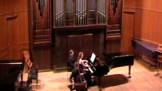 Debussy: Sonata for cello and piano, performed by Dmitry Volkov and Oxana Shevchenko