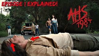 Hidden Clues Everywhere! | American Horror Story 1984 Episode 1 Explained
