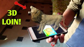 AMAZING APP!   3D 🦁 in realty   Android best unique App For fun