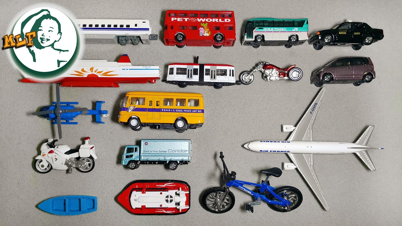 Learn Different Transportation For Kids With Tomy Tomica