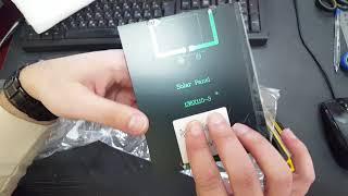 Солнечные батареи на 12В 140 mah. Для автономного освещения шкафа.(, 2017-12-18T20:42:20.000Z)
