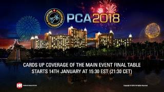 Día 5 del Evento Principal de la PCA (cartas descubiertas)