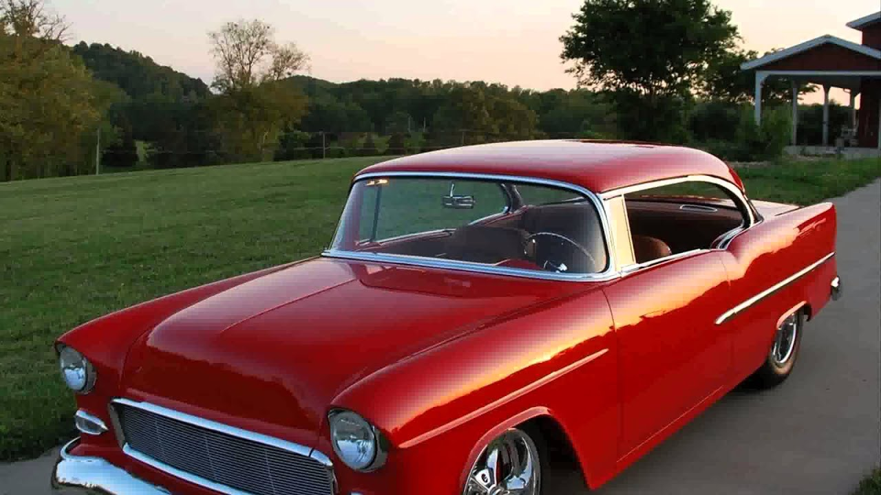 1955 chevy 2 door hard top youtube for 1955 chevy two door