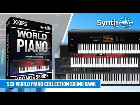 Sounds : SSX00 - World Piano - Korg Kronos Series
