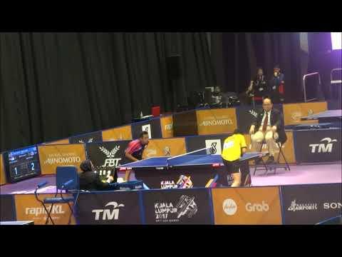 SEA Games 2017 Table Tennis, Thailand V Indonesia , Third Single, 25 8 2017 Men Group
