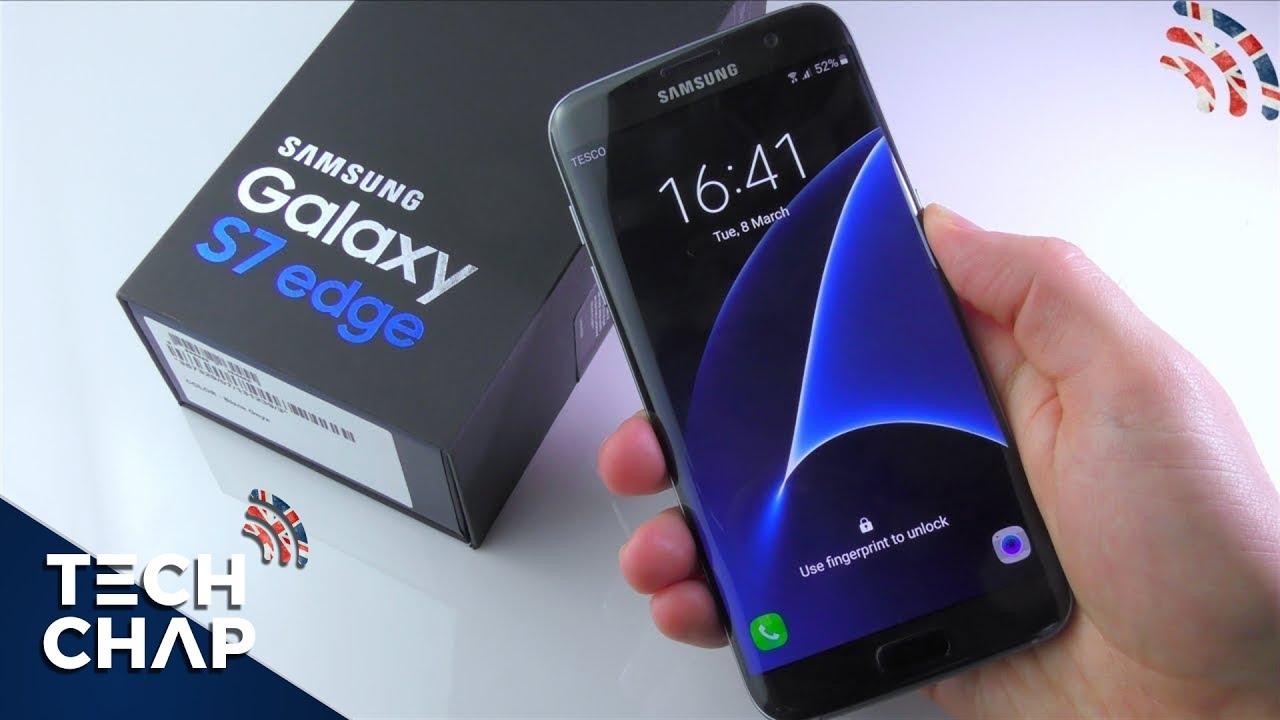 Samsung S7edge Black Pearl 128GB new 100% BH Cty 12 tháng
