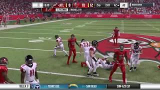 Season 8 - Week 9: Atlanta Falcons vs Tampa Bay Buccaneers