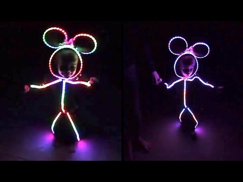 cute kid wears led halloween costume whats trending now - Halloween Led Costume