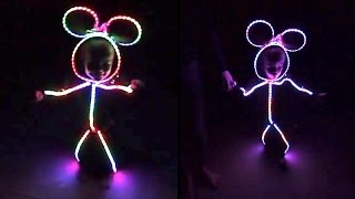 CUTE KID Wears LED Halloween Costume | What's Trending Now