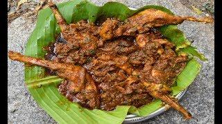 Tamil Nadu nattu Kozhi chicken gravy village food Recipe//handicapped cooking my brother