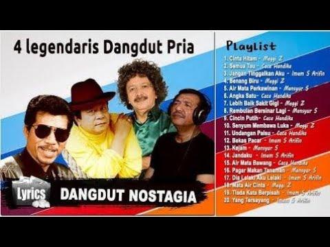 4 Penyanyi Legendaris Dangdut Pria Terbaik - Lagu Paling Enak Dinyanyikan Saat Karaoke (HQ  720p HD