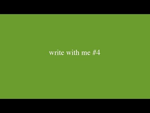 write with me #4