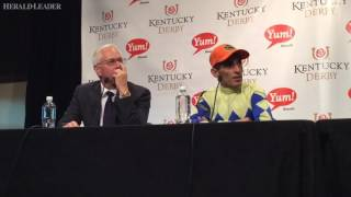 John Velazquez on Derby-winning ride