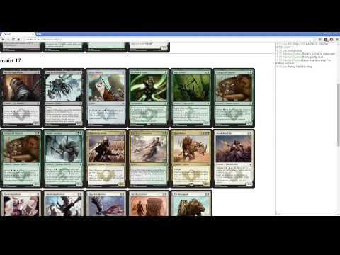 Khans of Tarkir Draft 3 - Abzan Flying Rhinos