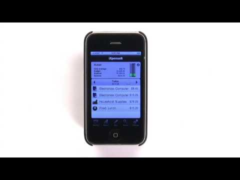iXpenseit Expense and Budgeting iPhone App Analysis thumbnail