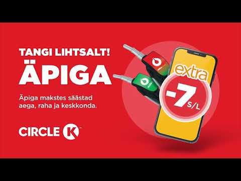 Tangi Circle K äpiga!