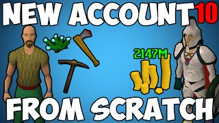 Runescape: New Account From Scratch - Episode 10