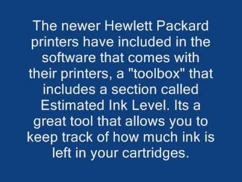 How to Reset Your HP Printer's Estimated Ink Level