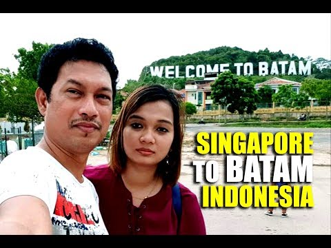 মাত্র ৩ হাজার  টাকায় ঘুরে আসুন ইন্দোনেশিয়া থেকে - SINGAPORE TO BATAM - INDONESIA