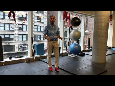 Golf Exercises to Improve Pelvic Mobility.