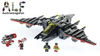 Lego Batman Movie 70916 The Batwing - Lego Speed Build Review