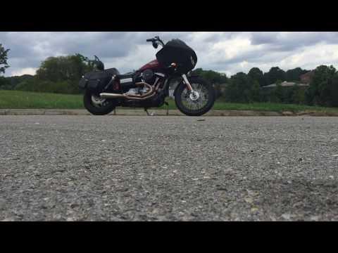 2009 Harley Davidson FXDB w/ Road Glide fairing.  The RoadBob!