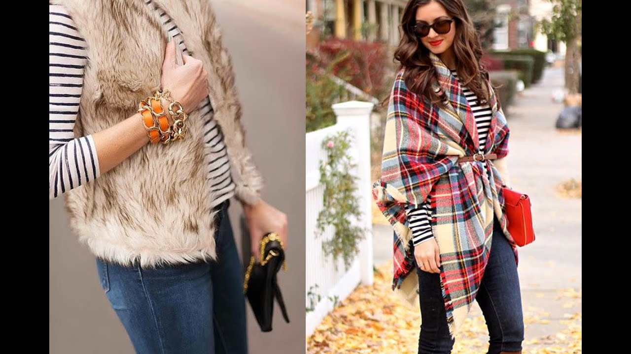 Winter Fashion 20 Style Tips On How To Wear A Striped Shirt In The Winter Youtube