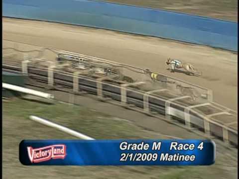 Victoryland 2/1/09 Matinee Race 4