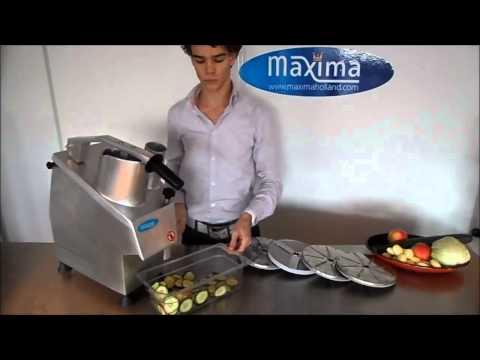 máy cắt rau củ quả dùng trong căn tin, bếp ăn công nghiệp, máy thái lát, thái sợi , hạt lựu