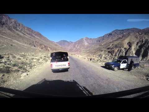 North West Pakistan police escort