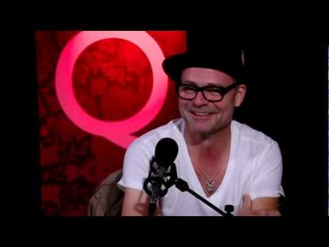 The Tragically Hip frontman Gord Downie in Studio Q
