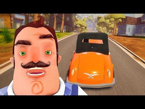 I STOLE HIS CAR - Hello Neighbor NEW ACT 3 ITEM Mod