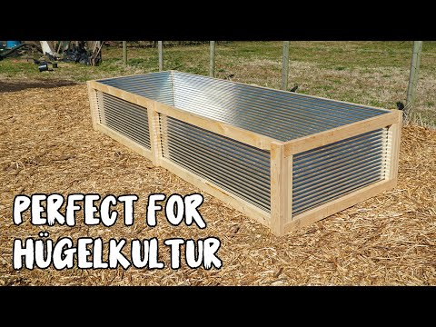 How to Build a Raised Bed in 1 HOUR for UNDER $100